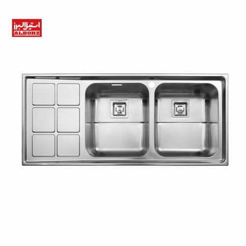 سینک ظرفشویی استیل البرز مدل 761
