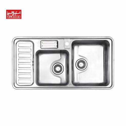 سینک ظرفشویی استیل البرز کد 812
