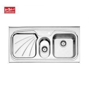 سینک ظزفشویی استیل البرز کد 50.610