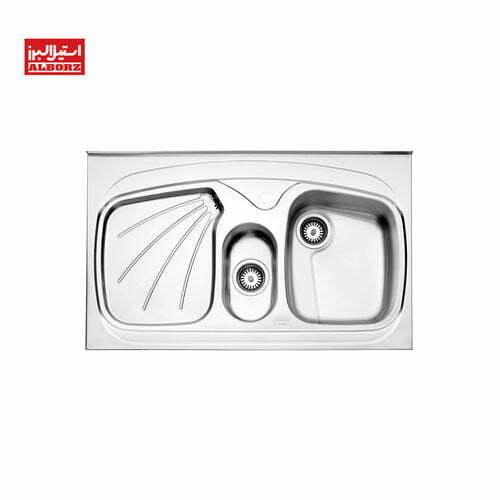 سینک ظرفشویی استیل البرز کد 610.60