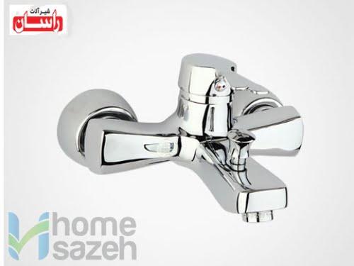 شیر آلات بهداشتی راسان پاپیون - دوش مدل دوش اهرمی پاپیون