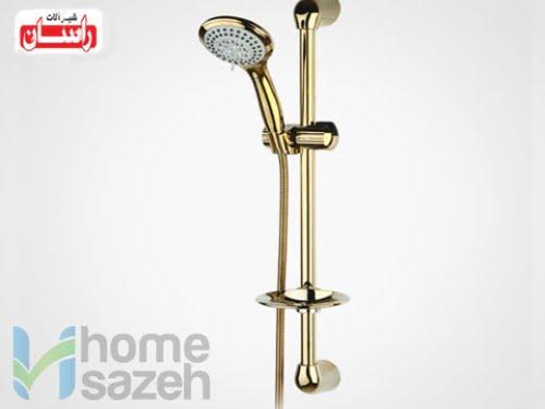 شیر آلات بهداشتی راسان یونیکا - چند حالته طلایی مدل یونیکا چند حالته طلایی راسان