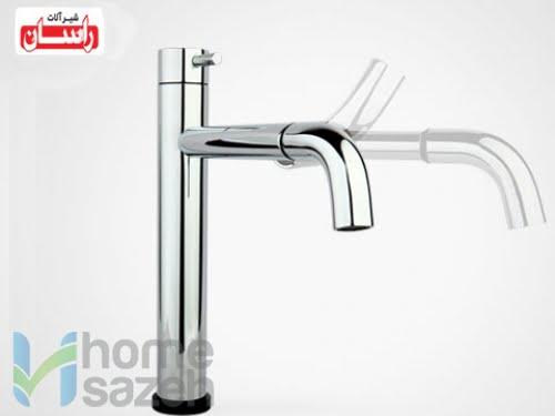 شیر آلات بهداشتی راسان سینک - لمسی مدل سینک اهرمی لمسی راسان
