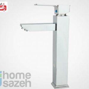 شیر آلات بهداشتی راسان مینیاتور - روشویی  مدل روشویی بلند اهرمی مینیاتور