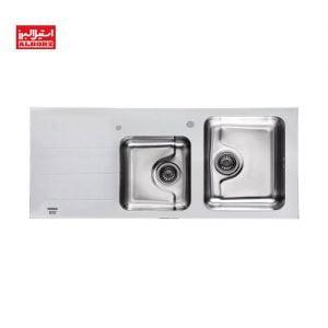 سینک ظرفشویی مدل کریستال استیل البرز