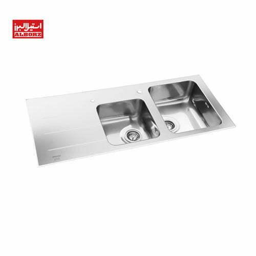 سینک ظرفشویی مدل کرسیتال استیل البرز